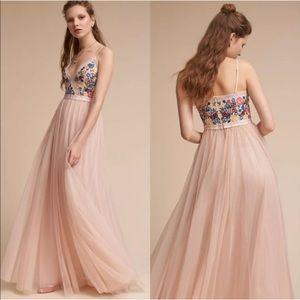 BHLDN Needle & Thread New Arya Floral Maxi Dress
